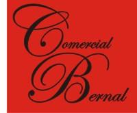 Logotipo Comercial Bernal · Comercio · San Andrés y Sauces
