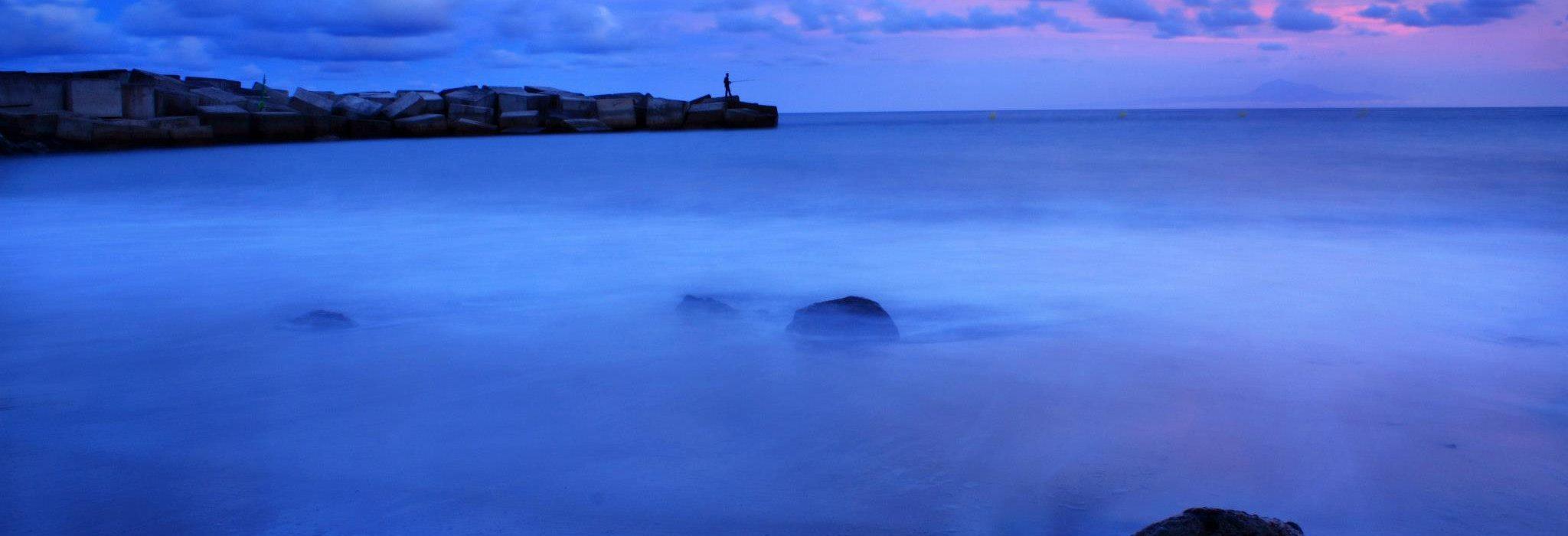 Playa del Puerto Espíndola · ACE San Andrés y Sauces · Vanmarty.com