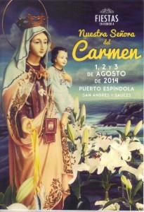Fiestas del Carmen en Puerto Espíndola, San Andrés y Sauces 2014