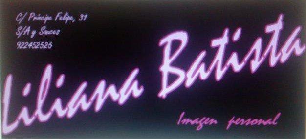 Logo Peluquería Liliana Batista