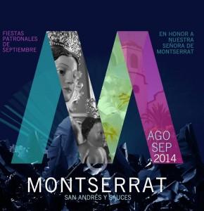 Programa de las Fiestas en Honor de Nuestra Señora de Montserrat 2014