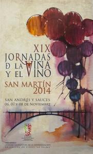"XIX Jornadas ""San Martín 2014"". San Andrés y Sauces. La Palma."
