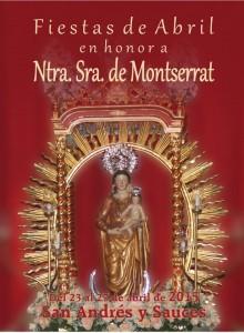 Programa Fiestas de Abril en Honor a Ntra. Sra. de Montserrat 2015