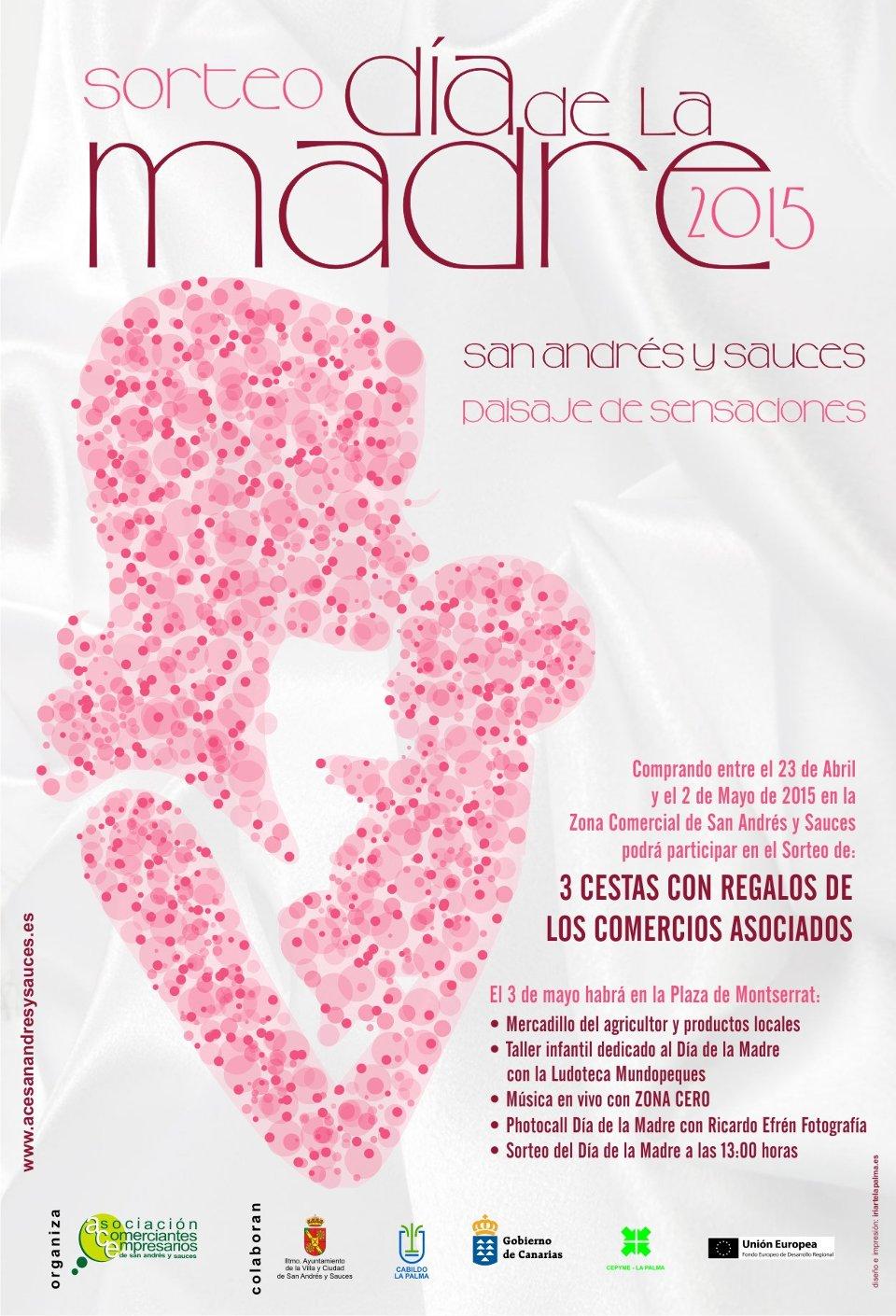 Sorteo Día de La Madre 2015. ACE San Andrés y Sauces