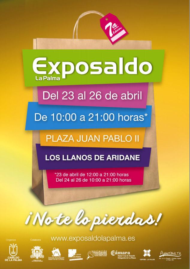 Varias empresas de ACE San Andrés y Sauces participan en el Exposaldo La Palma 2015, Del 23 al 26 de abril. Plaza Juan Pablo II. Los Llanos de Aridane.