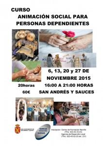 Curso Animación Social para Personas Dependientes