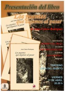 Presentación del nuevo poemario de Juan Calero Rodríguez