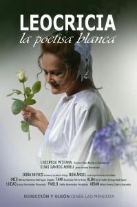 """30 de enero, a las 17:30h en La Casa de La Cultura de San Andrés y Sauces, pre estreno del film """"Leocricia, la poetisa blanca"""" del guionista y director, Don Gines Lao Mendoza."""