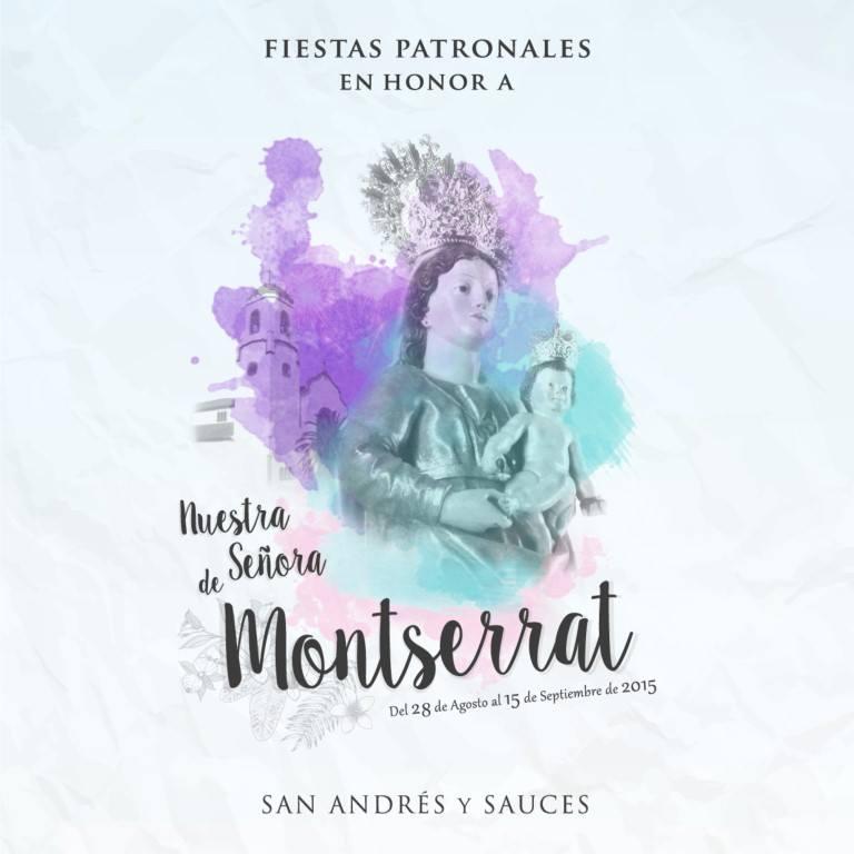 Programa de Actos de las Fiestas Patronales en Honor a Nuestra Señora de Montserrat 2015