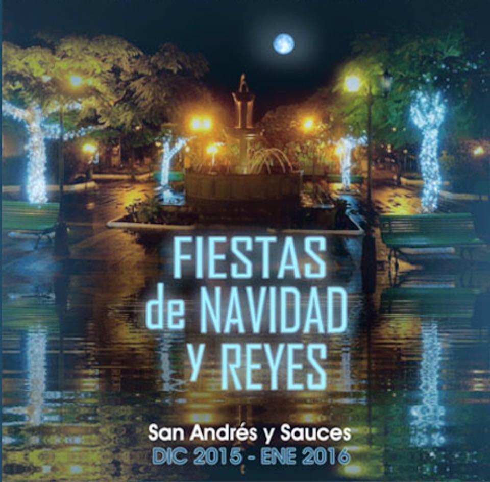 Fiestas de Navidad y Reyes 2015-2016 en San Andrés y Sauces